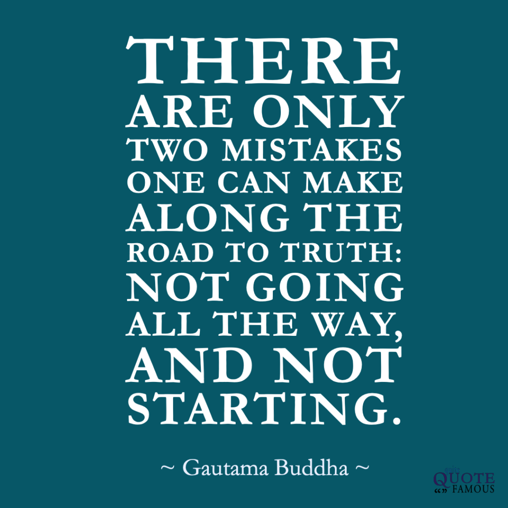 Famous Quote Buddha Start